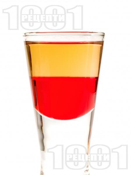 Шот Червена текила - снимка на рецептата